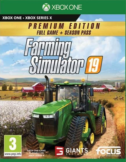 XONE/XSX Farming Simulator 19 Premium Edition Nové