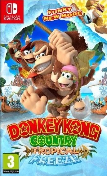 Switch Donkey Kong Country Tropical Freeze Nové