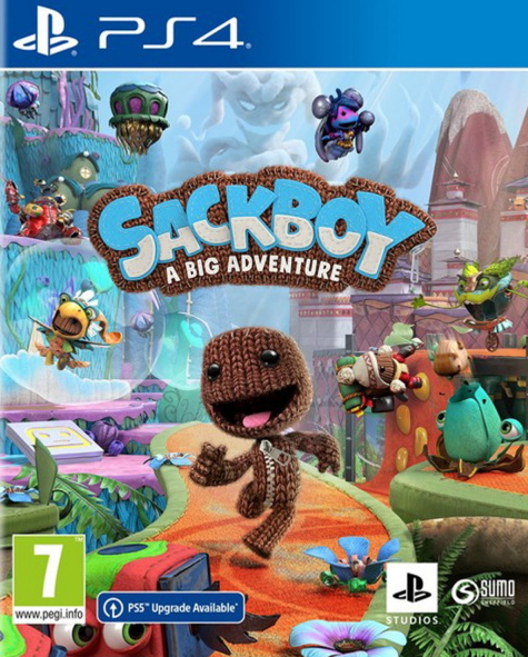 PS4 Sackboy A Big Adventure CZ Nové