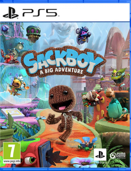 PS5 Sackboy A Big Adventure CZ Nové