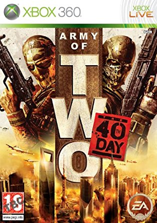 X360 Army of Two The 40th Day Nové