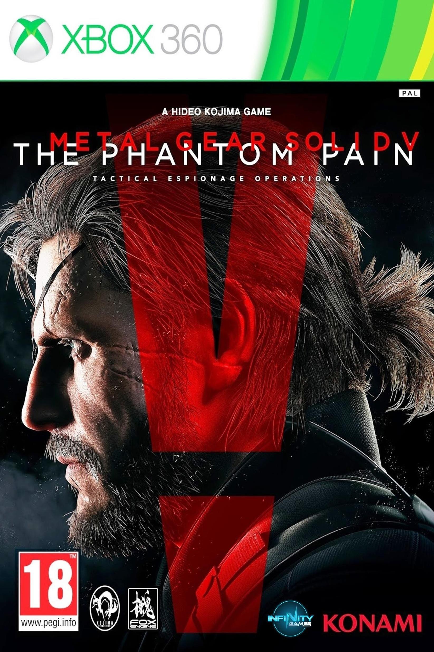 X360 Metal Gear Solid V The Phantom Pain Nové