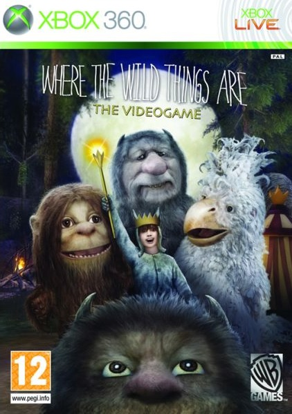 X360 Where The Wild Things Are Nové