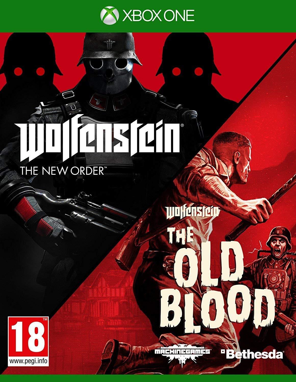 XONE Wolfenstein The New Order - Wolfenstein The Old Blood Nové