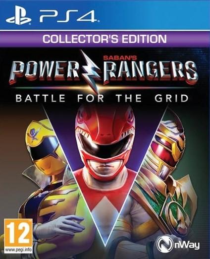 PS4 Power Rangers Battle For The Grid Collectors Edition Nové