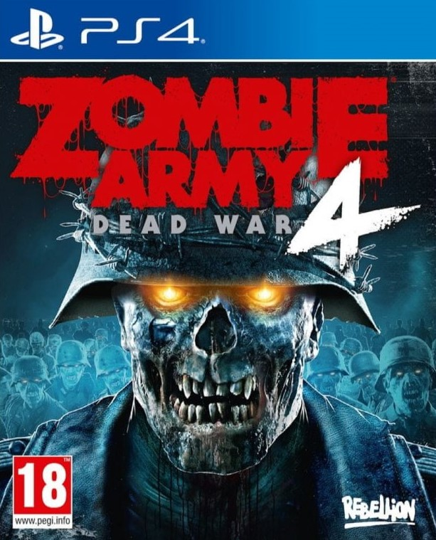 PS4 Zombie Army 4 Dead War Nové