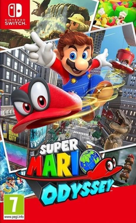 Switch Super Mario Odyssey Nové