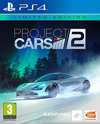 PS4 Project CARS 2 Limited Edition Nové