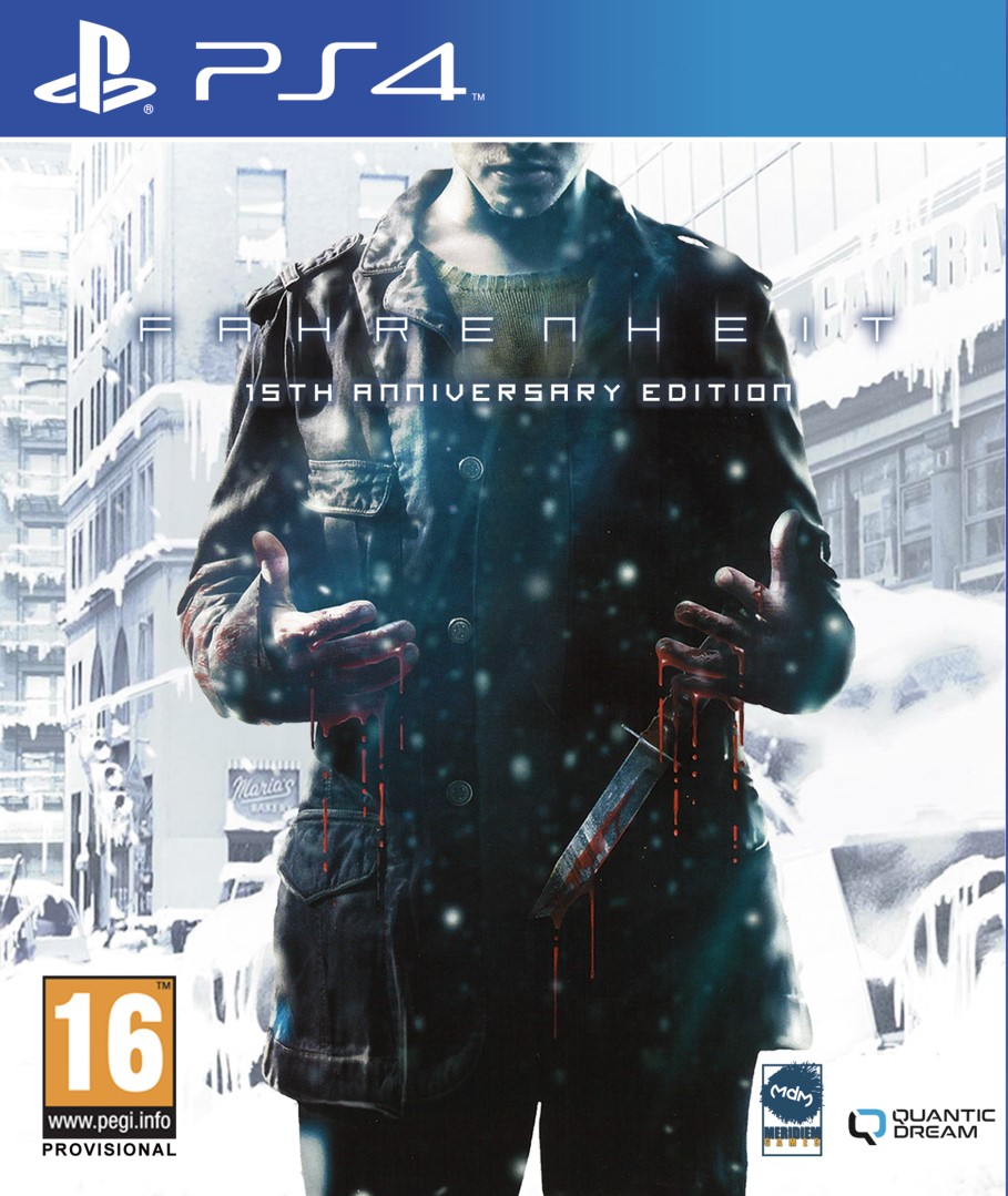 PS4 Fahrenheit 15th Anniversary Edition Nové