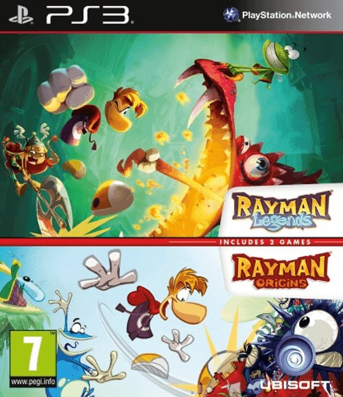 PS3 Rayman Legends - Rayman Origins Nové