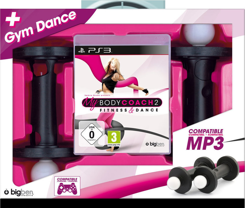 PS3 My Body Coach 2 Fitness Dance - 2x čínka Nové