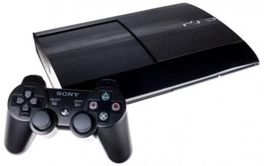 PS3 Konzole Sony Playstation 3 Super Slim 500GB
