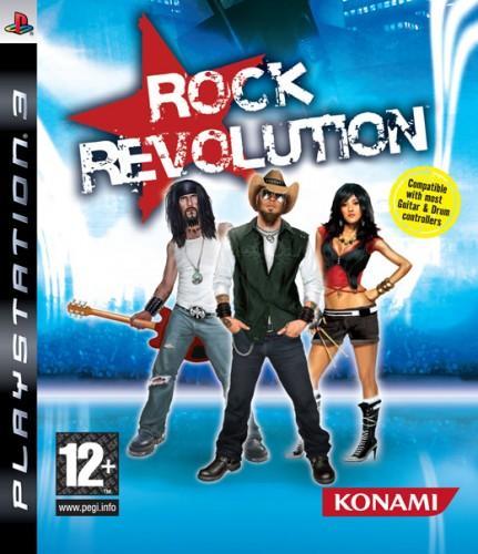 PS3 Rock Revolution Nové