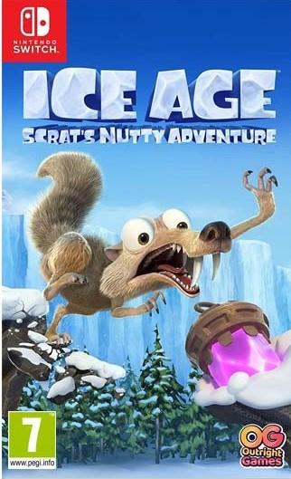 Switch Ice Age Scrats Nutty Adventure Nové