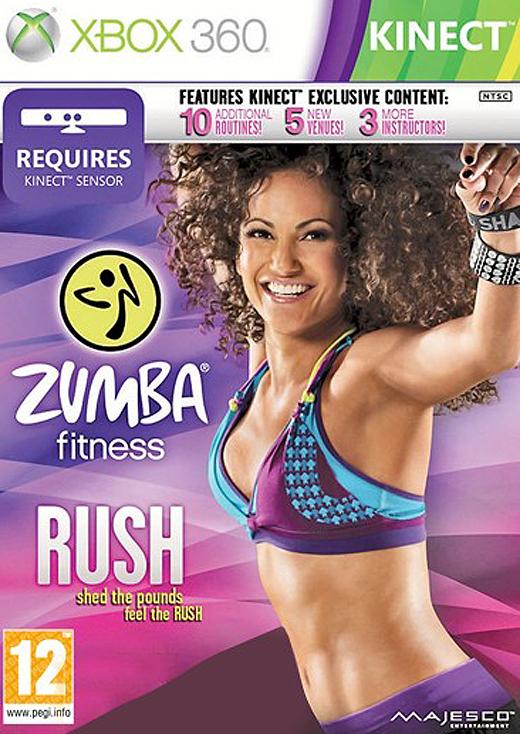 X360 Zumba Fitness Rush Nové
