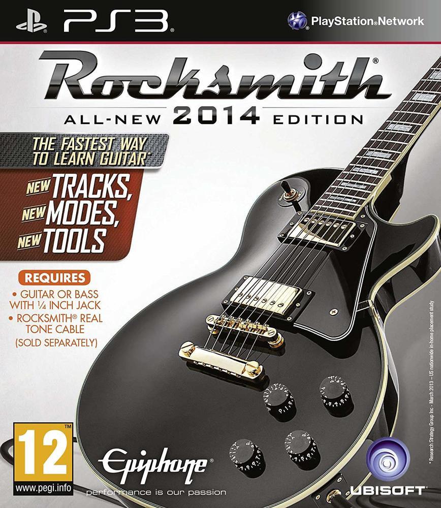 PS3 Rocksmith 2014 Nové