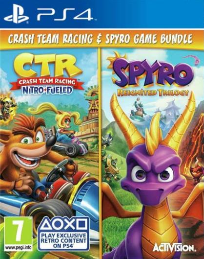 PS4 Crash Team Racing Nitro Fueled - Spyro Reignited Trilogy Nové