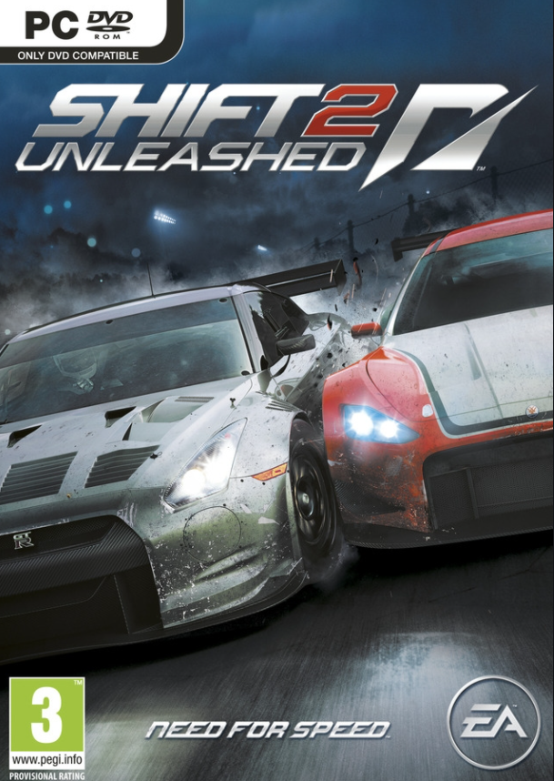 PC Need for Speed Shift 2 Unleashed Nové