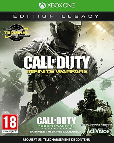 XONE Call of Duty Infinite Warfare Legacy Edition + COD 4 SP/IT Nové