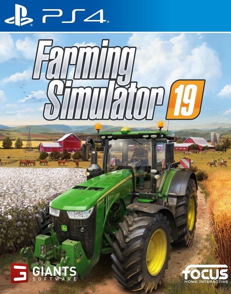 PS4 Farming Simulator 19 CZ Nové