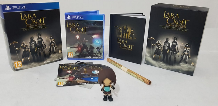 PS4 Lara Croft And The Temple of Osiris Gold Edition Nové
