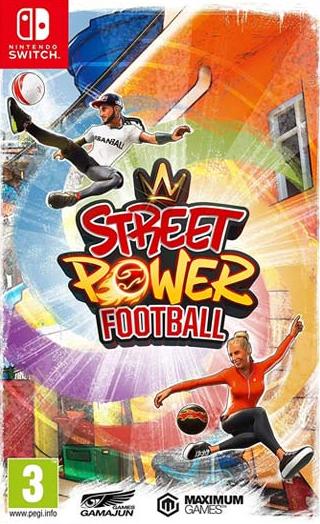 Switch Street Power Football Nové