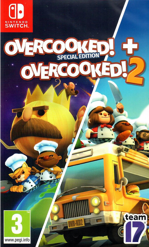 Switch Overcooked! Special Edition - Overcooked! 2 Double Pack Nové