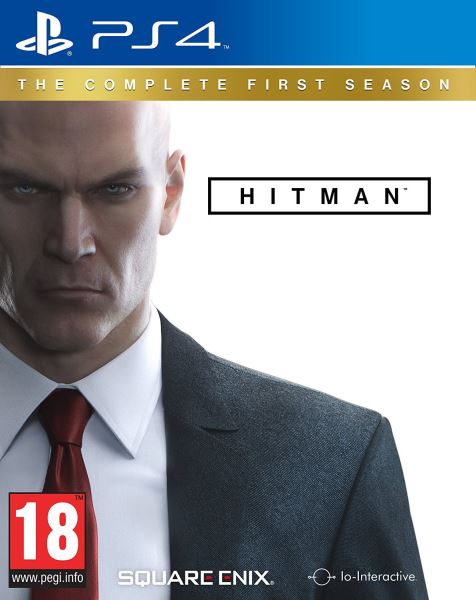 PS4 Hitman The Complete First Season Steelbook Edition Nové