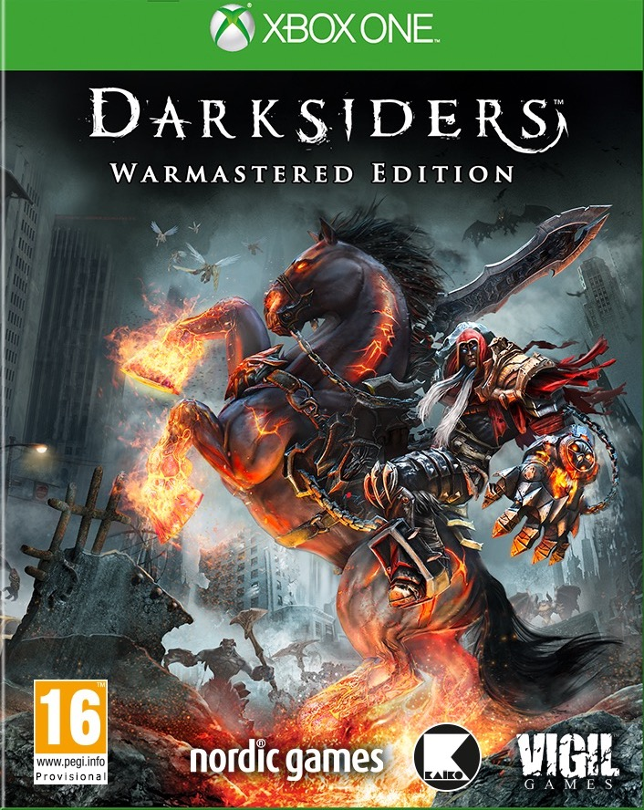 XONE Darksiders Warmastered Edition Nové