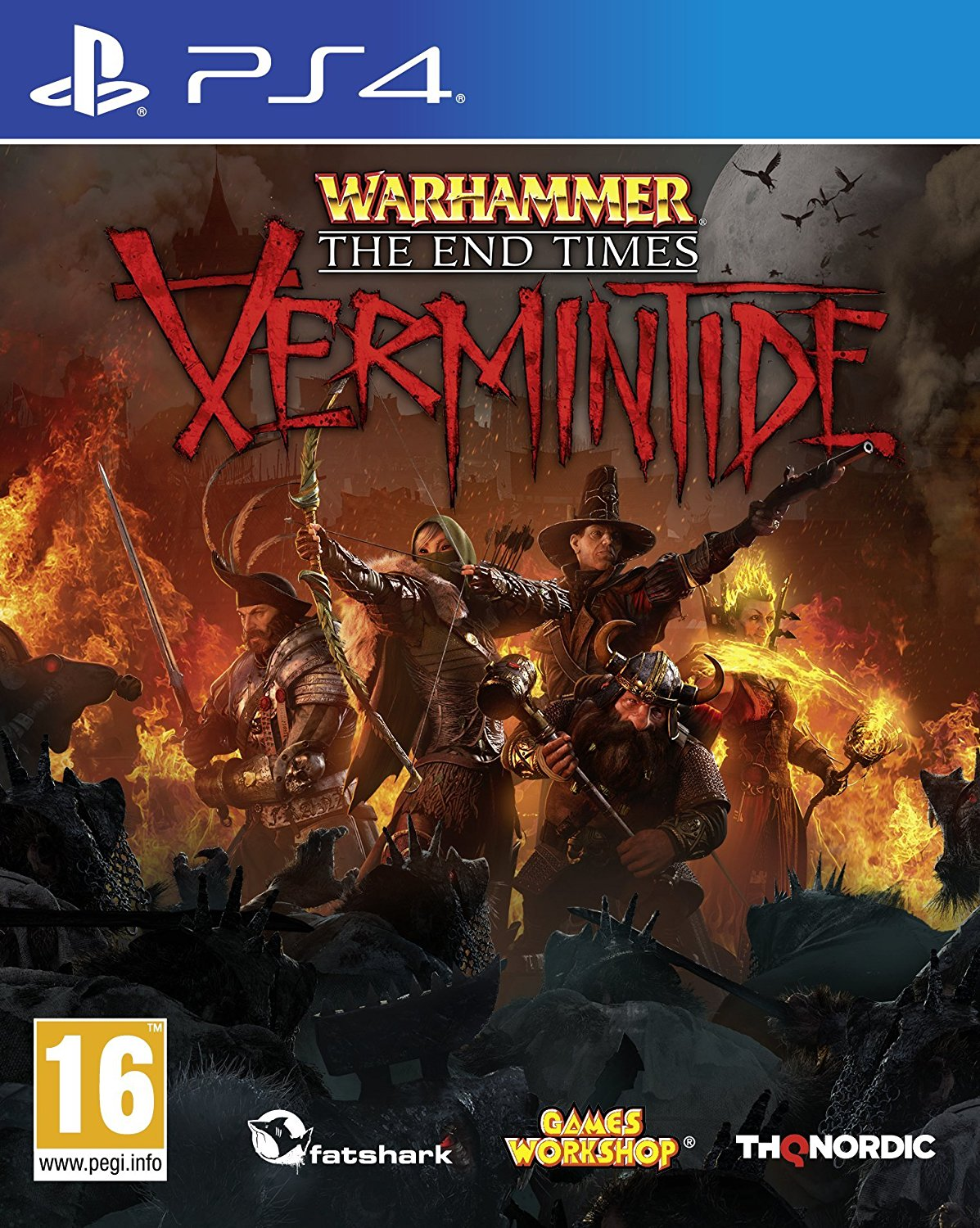 PS4 Warhammer End Times Vermintide N