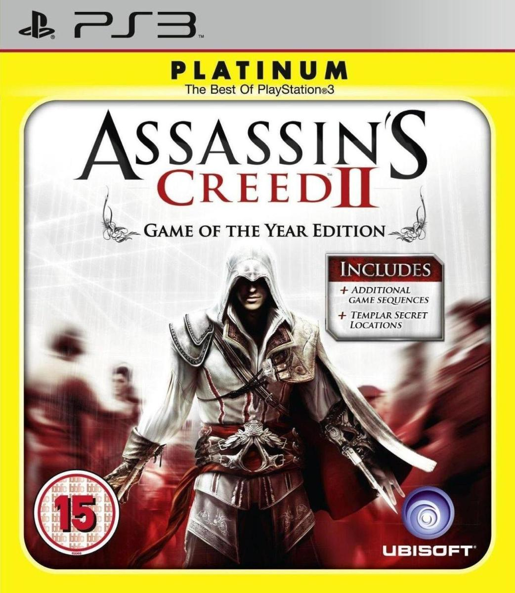 PS3 Assassins Creed 2 Game Of The Year Edition Nové