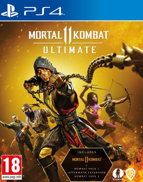 PS4 Mortal Kombat 11 Ultimate Nové