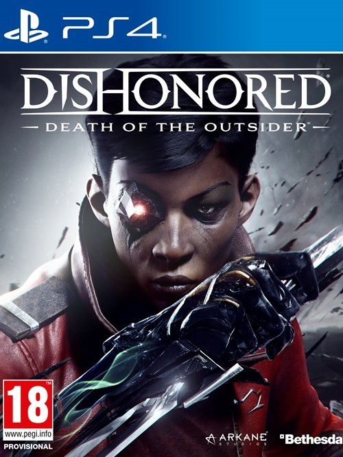PS4 Dishonored Death of the Outsider Nové