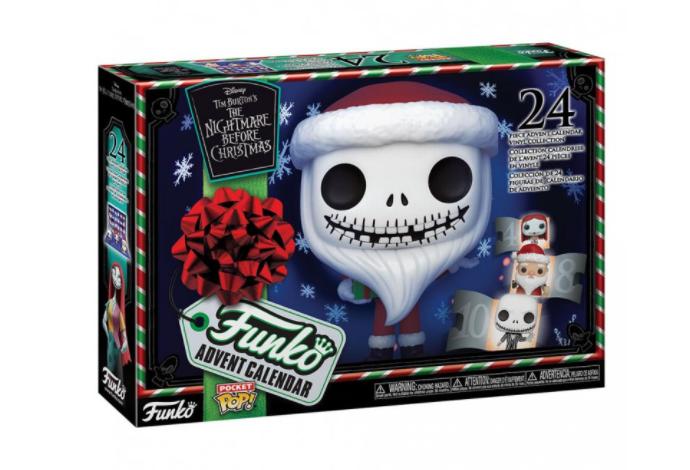Merch Funko POP! Adventní kalendář The Nightmare Before Christmas Nové