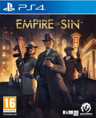 PS4 Empire of Sin Day One Edition Nové