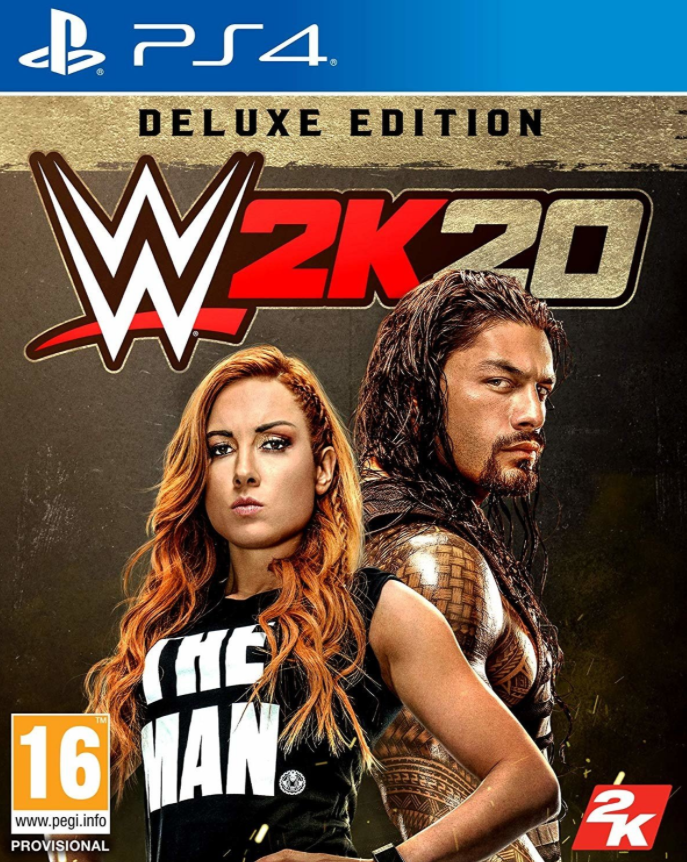 PS4 WWE 2K20 Deluxe Edition Nové