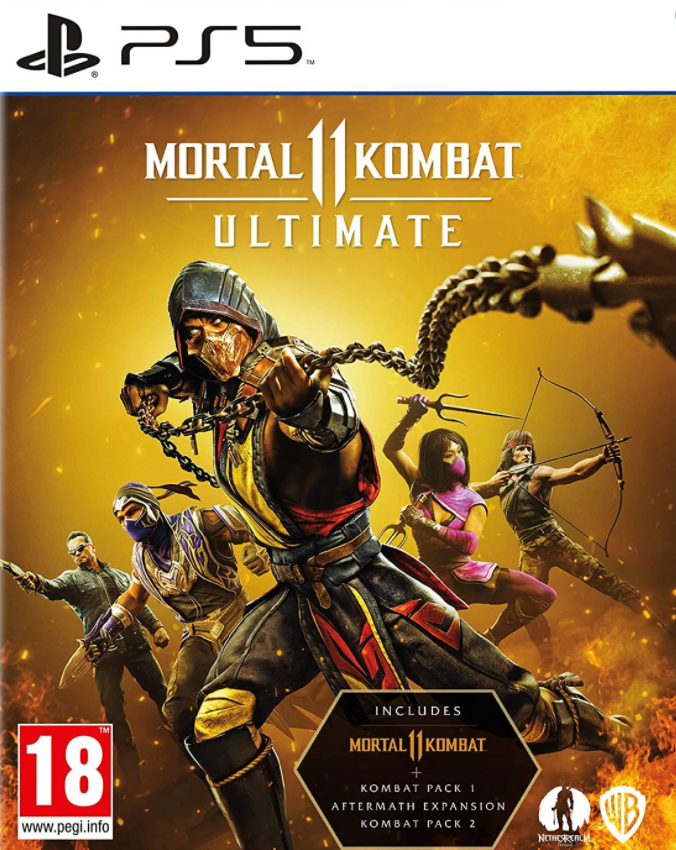 PS5 Mortal Kombat 11 Ultimate Nové