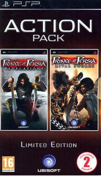 PSP Prince of Persia Rival Swords - Prince of Persia Rival Revelation Nové