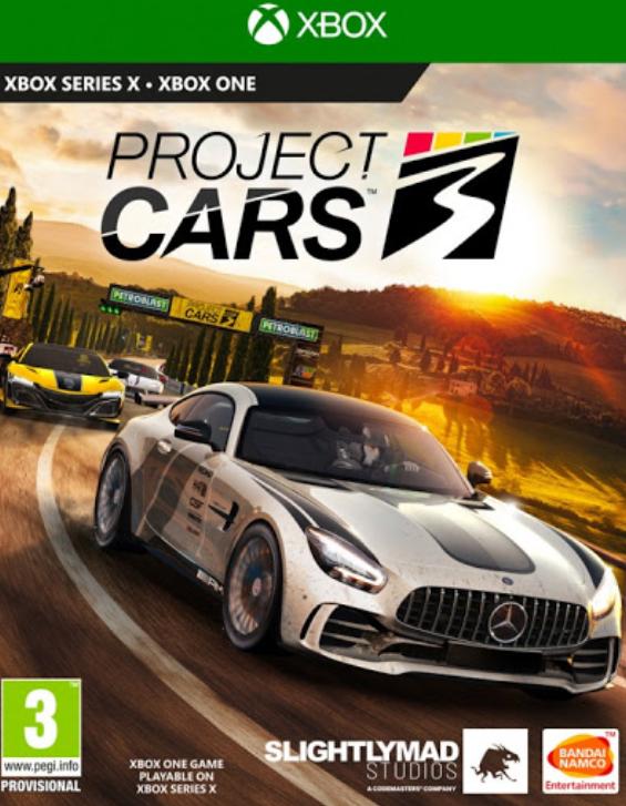 XONE Project Cars 3 Nové