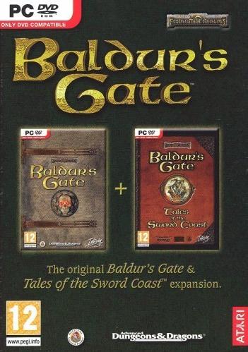 PC Baldurs Gate - Tales of the Sword Coast Nové