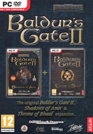 PC Baldurs Gate 2 Throne of Bhaal - Shadows of Amn Nové