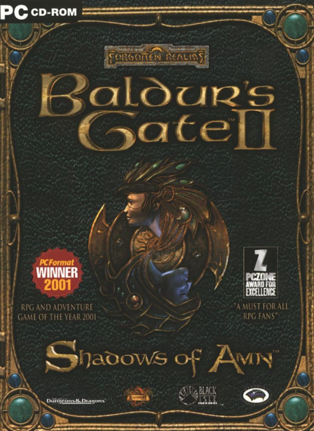 PC Baldurs Gate 2 Shadows of Amn Nové