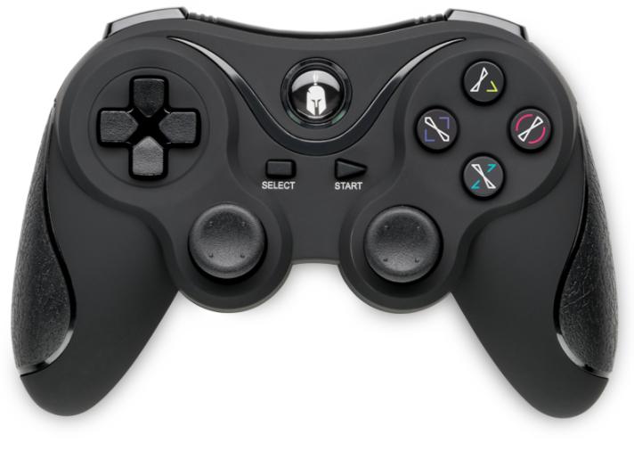 PS3 ovladač bezdrátový Spartan Black Nové