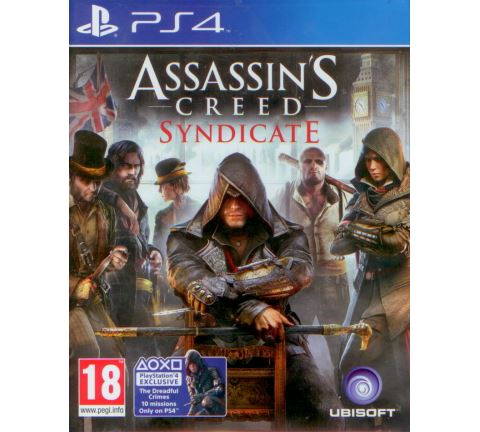 PS4 Assassins Creed Syndicate CZ N
