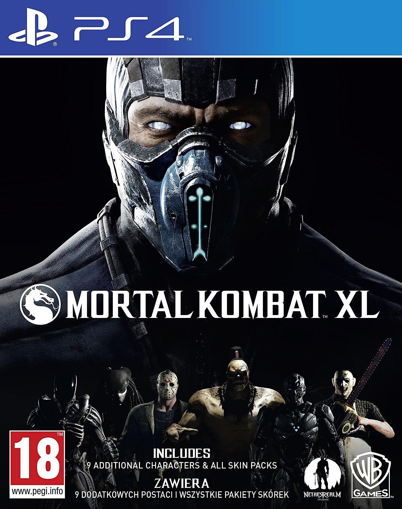 PS4 Mortal Kombat XL Nové