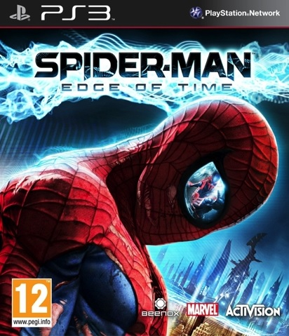 PS3 Spider-Man Edge of Time Nové