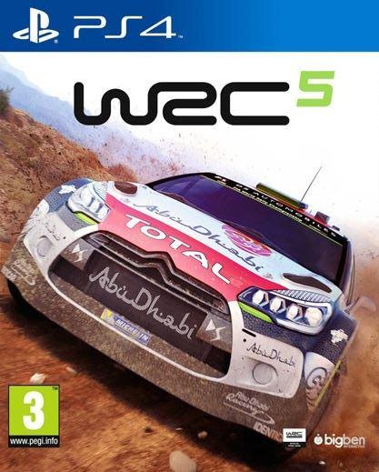 PS4 WRC 5 Nové