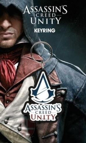 Merch klíčenka Assassins Creed Unity Logo Nové