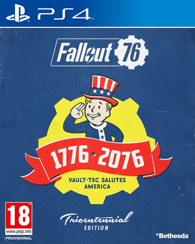 PS4 Fallout 76 Tricentennial Edition Nové