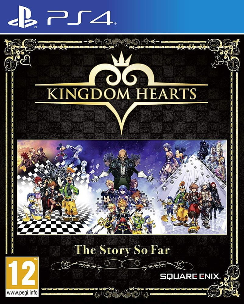 PS4 Kingdom Hearts The Story so Far OBAL